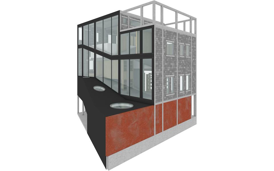 Huis op een helling harmen van der wilt - Moderne huis op een helling ...